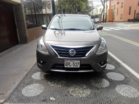 Nissan Versa 2015 Impecable