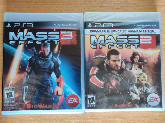 Mass Effect 2 E 3 Ps3 Lacrado Midia Fisica