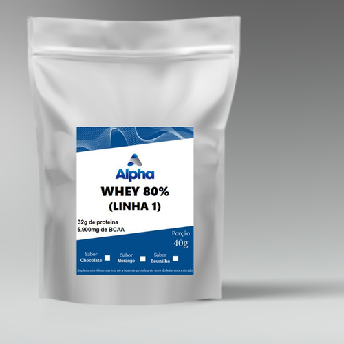 Whey Protein Alpha 80% - 5 Kg