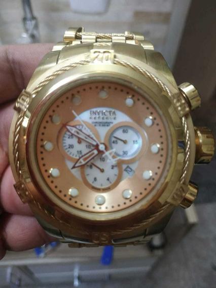Relógio Invicta Bolt Zeus 12738 Ouro 18k 100% Original