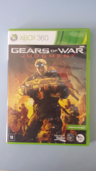 Jogo Gears Of War Judgment Xbox 360 Original