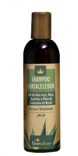 Shampoo Vegano Fortalecedor