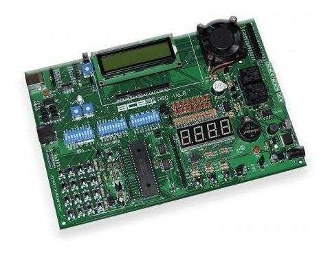 Kit Didático Para Microcontroladores Pic (18f4550)