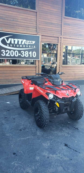 Can-am Quadriciclo Outlander 570 Ho. 2018/2018