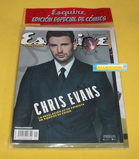 Chris Evans Revista Esquire Comic Civil War Capitan America