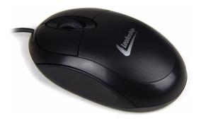 Mouse Leadership Óptico Ps2 - Preto - Modelos 4566 Ou 4586