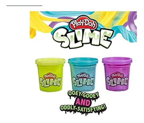 Play Doh Slime Set 3 Unidades