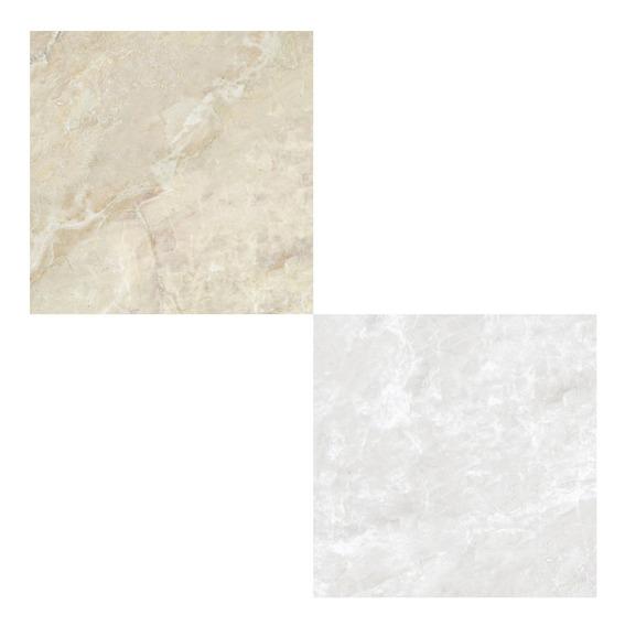 Porcelanato Brillante Cerro Negro Teramo 61x61 1ra Calidad