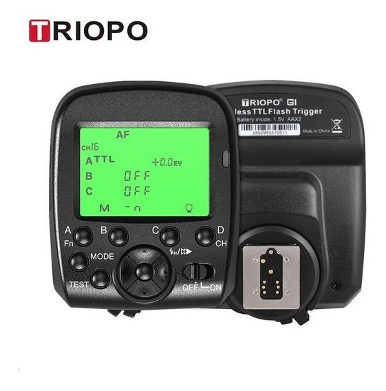 Triopo G1 Radio Flash Trigger 2.4ghz Canon Nikon Hss Ttl