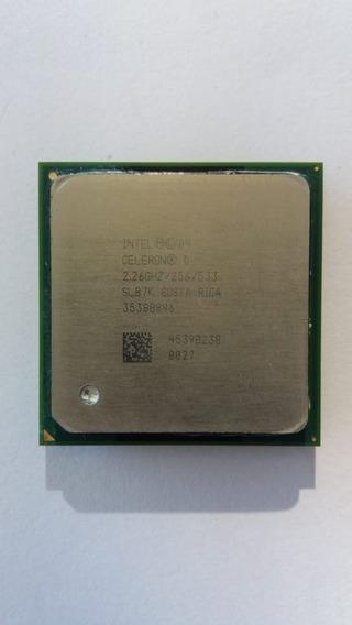 Processador Intel Celeron D 2.26ghz/256/533 Sl87k Frete Grát