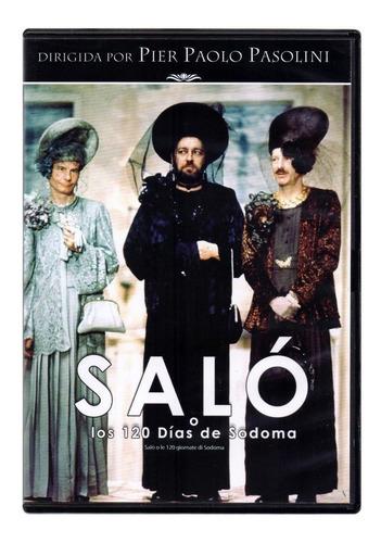 Salo O Los 120 Dias De Sodoma Pier Pasolini Pelicula Dvd