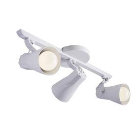 Luminária Teto Spot Trilho Octa Triplo (3) Direcionável E27