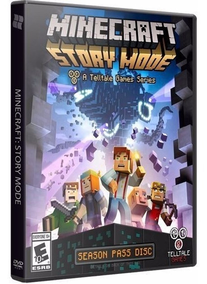 Minecraft Story Mode Complete Edition - Pc Dvd - Frete 8 R$