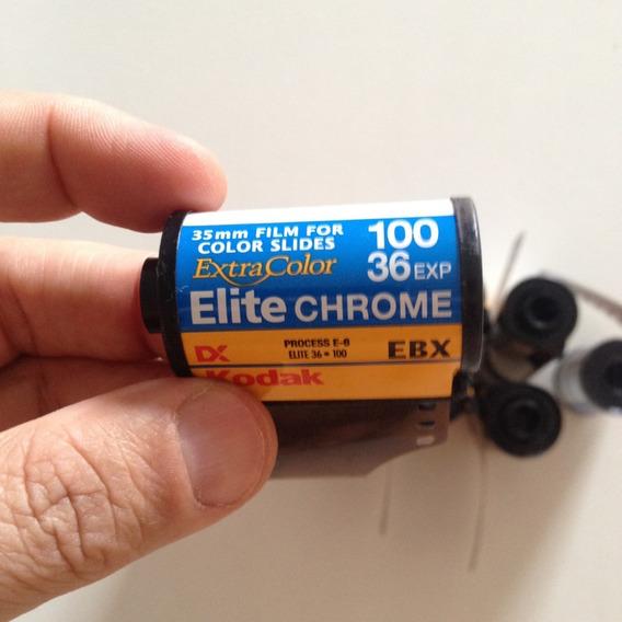Filmes Kodak 35mm Extra Color Elite Chrome 100 36exp