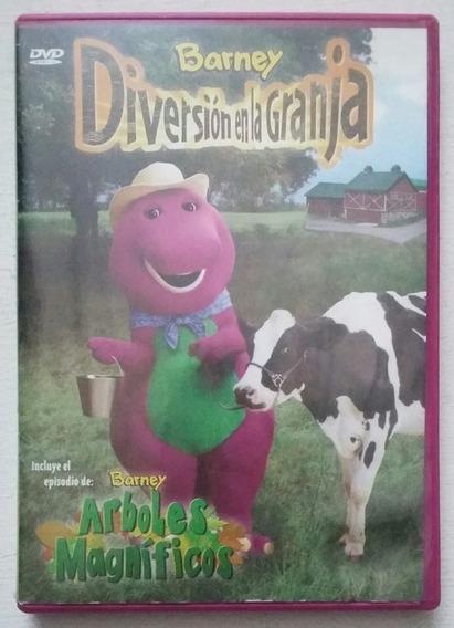 Dvd Barney Diversion En La Granja