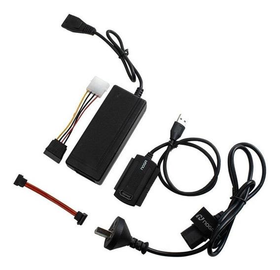 Adaptador Ide Mini Ide Sata A Usb 3.0 Noga Fte Cable Técnico