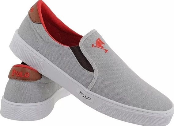 Tenis Polo Joy Slip On Original - Ultra Conforto