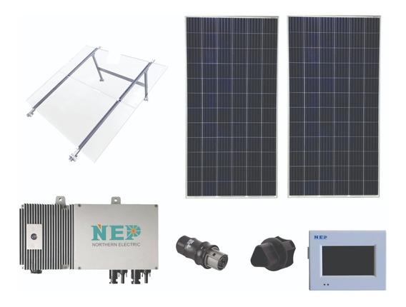 2 Celdas Solares 165kwh Ahorra Hasta 900x Mes Conecta A Cfe