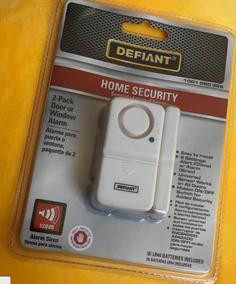 Alarme Residencial Para Porta E Janela - Embalagem Com 2