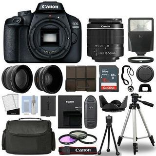 Kit Fotografico Cámara Slr Canon Eos 4000d/rebel T100
