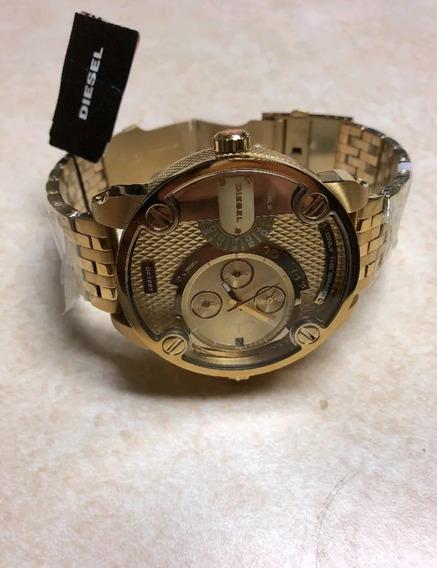 Reloj Diesel Mr.daddy Dz7287 Gold (bajo Pedido )