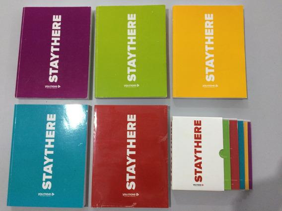 Curso Inglês Staythere You Move 5 Livros E 10 Dvds Completo