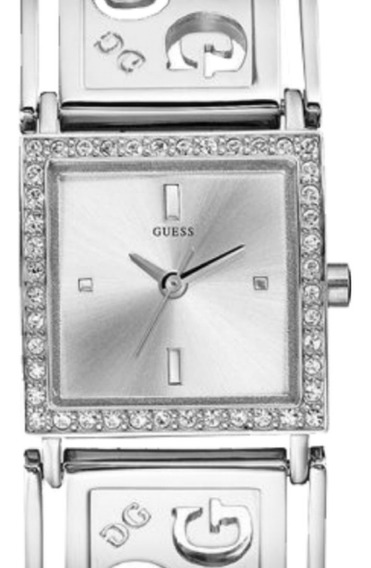 Relógio Feminino Guess Analógico 92191l0glna1 Prateado