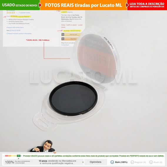 Filtro 77mm Profissional Polarizador Circular Hgx Cpl | 2b