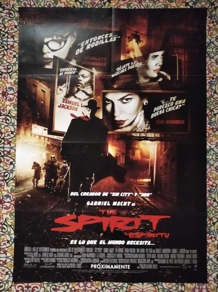 Afiche - The Spirit - Frank Miller - Original Cine!!!