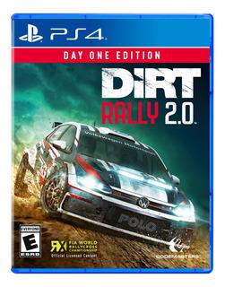 Juego Ps4 Dirt Rally 2.0 Edicion Dia Uno