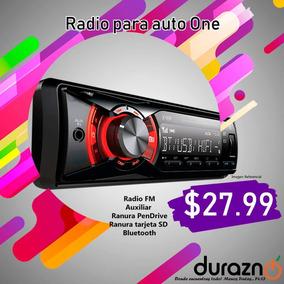Radio Usb Bluetooth Con Control