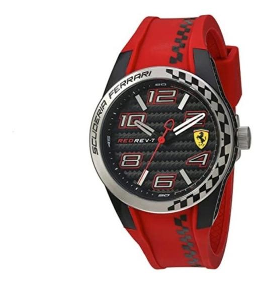 Reloj Ferrari Para Hombres 44mm, Modelo 830338