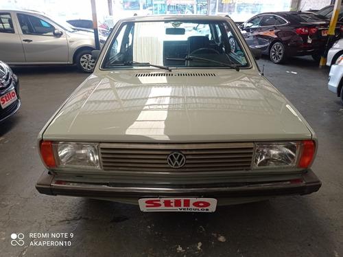Imagem 1 de 15 de Voyage 1.5 Ls Gasolina  1982 /1982 Cinza Placa Preta !!!