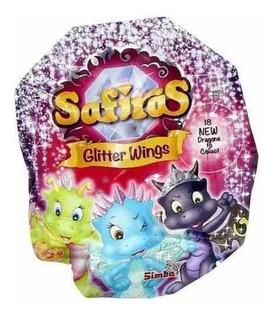 Safiras Dragones Glitter Wings Sobre Sorpresa - Villa Urquiz
