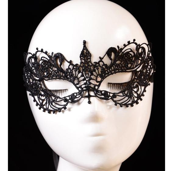 Antifaz Mascara Sexy Delicado Bordado