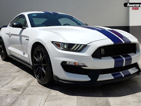Ford Mustang Shelby Gt350 Reprogramado 2017 Blanco