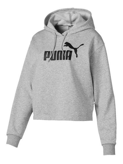 Blusa Moletom Puma Essential Cropped Feminina - Original
