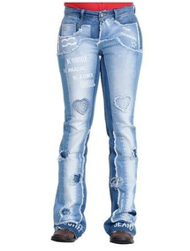 Calça Feminina Cutter Jeans Girl Tamanho 38