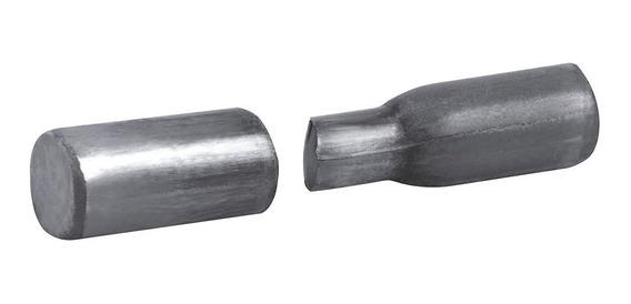 Bisagra Tubular 3/8 Pulgadas, Acero 100 Piezas
