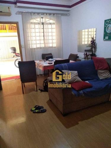 Casa Com 2 Dormitórios À Venda, 83 M² Por R$ 270.000 - Residencial Parque Dos Servidores - Ribeirão Preto/sp - Ca0725