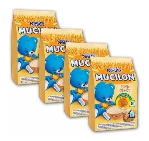 Mucilon Nestlé Nutriprotect+ Arroz E Aveia 12 Pacotes Oferta