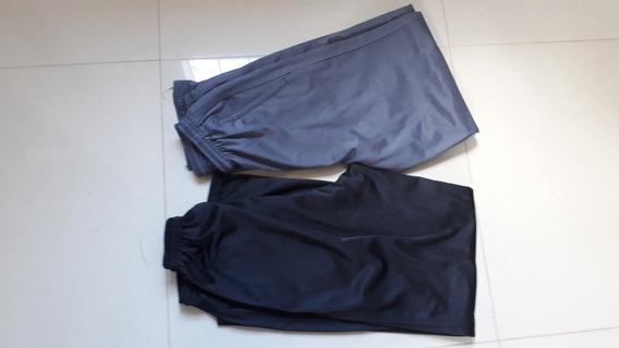 Dos Pantalones Gimnasia Gris Y Negro Medium