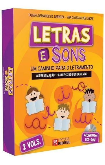 Coleção Letras E Sons - Alfabetização 1º Ano
