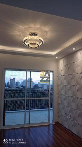 Imagem 1 de 29 de Apartamento Com 3 Dormitórios À Venda, 101 M² Por R$ 640.000,00 - Centro - Indaiatuba/sp - Ap7425
