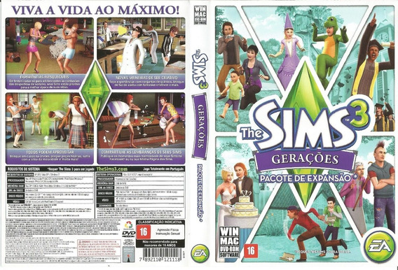 Pacote De Expansão The Sims 3 Gerações