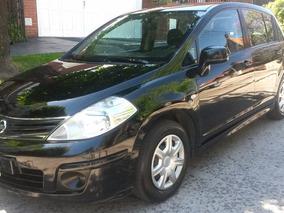 Nissan Tiida 1.8 Visia 6mt Negro No Bora 307 207 206 Corsa
