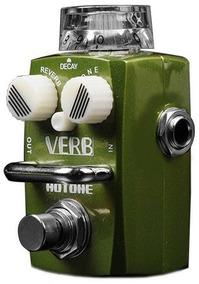 Pedal Guitarra Hotone Reverb Verb Srv 1 C/nf + Brindes!!!