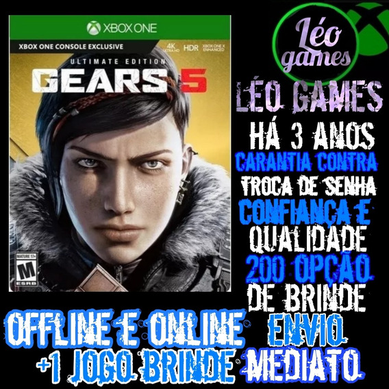 Gears 5 Ultimate Edition -xbox One - Mídia Digital + Brinde