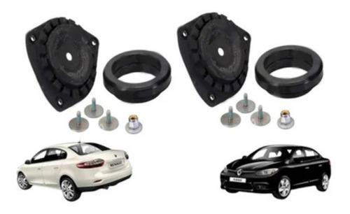 Imagem 1 de 6 de Kit Coxim + Rolamento Amortecedor Dianteiro Renault Fluence