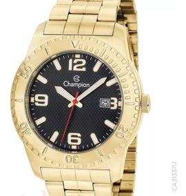 Relógio Champion Dourado Masculino Ca31480u Original + Nfe